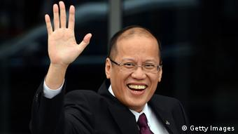 GettyImages 151485703 Philippines President Benigno Aquino as he arrives to attend the Asia-Pacific Economic Cooperation (APEC) summit in Russia's far eastern port city Vladivostok on September 8, 2012. AFP PHOTO / Saeed Khan (Photo credit should read SAEED KHAN/AFP/GettyImages)