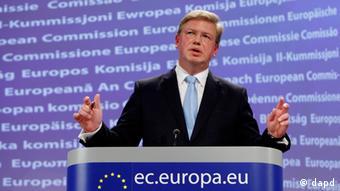 Stefan Füle EU Erweiterungskommissar