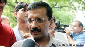 Indian social activist Arvind Kejriwal (Photo: dpa)