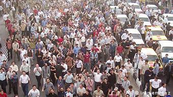 بحران ارزی در تابستان گذشته به تظاهرات و اعتراضهای پراکنده در بازار تهران هم منجر شد