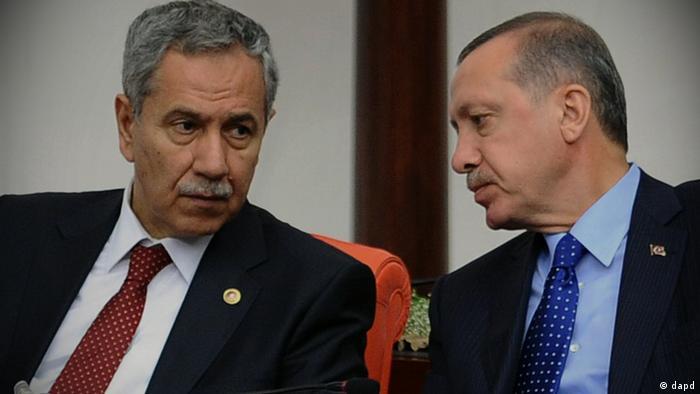 بولنت آرینچ، معاون نخستوزیر ترکیه و اردوغان