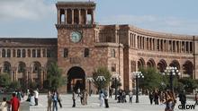 Armenien Regierungssitz in Erivan