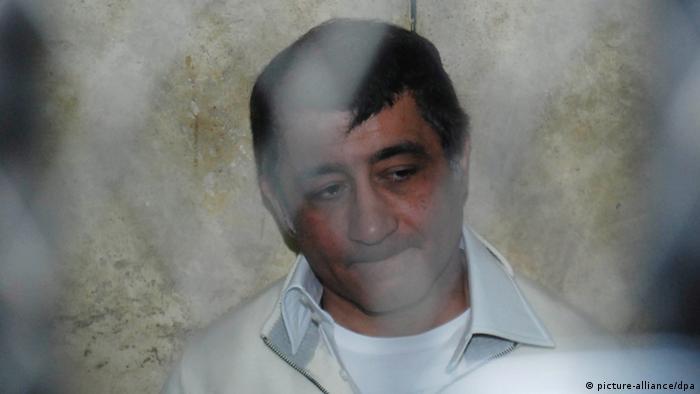 رجل الأعمال المصري أحمد عز خلال في محبسه بعد ثورة يناير 2011.