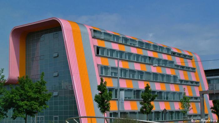 Одна з будівель Університету імені Отто фон Ґюріке в місті Магдебург