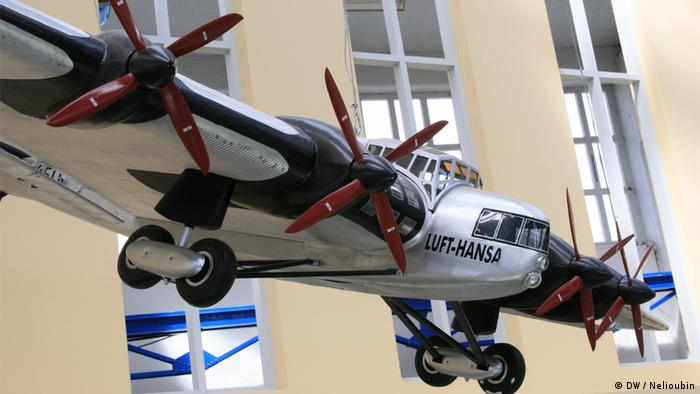 Большая модель самолета G 38 в Техническом музее Хуго Юнкерса