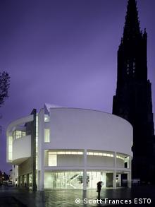 Stadthaus in Ulm, deisgned by Richard Meier