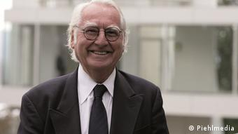 Richard Meier pictured at the Arp Museum Rolandseck