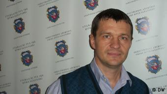 Белорусские правозащитник Олег Волчек