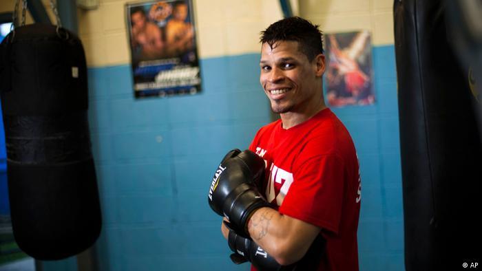 Boxer Orlando Cruz in Puerto Rico