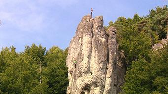 Região reúne quase três mil rochedos e cavernas