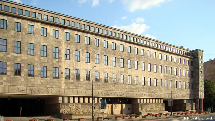 Zgrada Okružnog suda u Varšavi gdje je održan proces