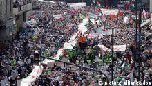 Jordanien Demonstration