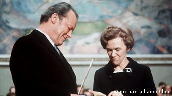 Ο καγκελάριος Βίλι Μπραντ παραλαμβάνει το Νόμπελ Ειρήνης (10.12.71)