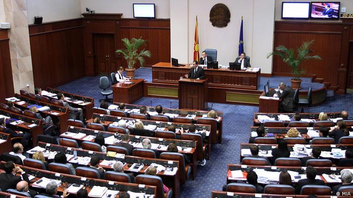 Mazedonisches Parlament spricht Vertrauen aus