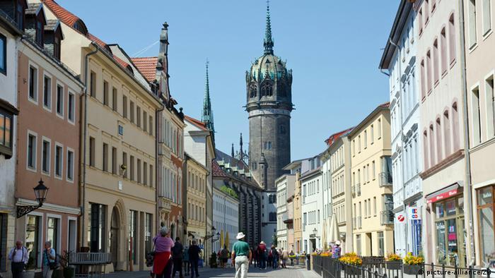 Schlosskirche in der Lutherstadt Wittenberg (picture-alliance/ZB)