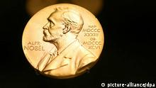 Nobelpreis Medaille / Alfred Nobel / Overlay-fähig