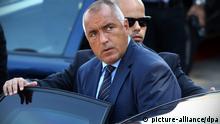 Bulgarien Premierminister Boyko Borissow Borissov