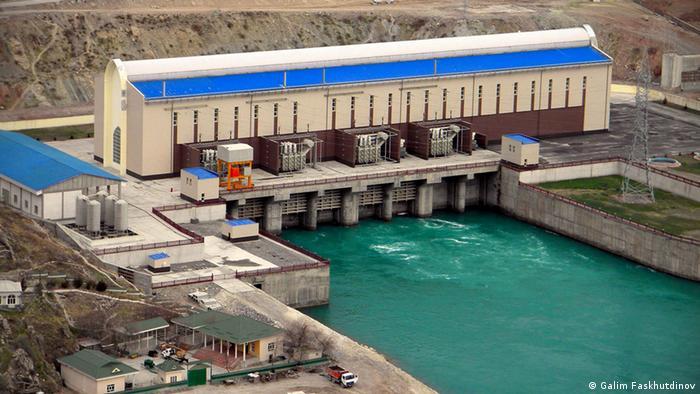 ГЭС в Таджикистане