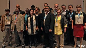Gruppenfoto beim Global Forum for Media Development (GFMD).