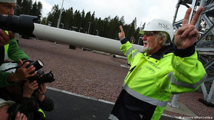 Russland Deutschland Wirtschaft Gas Pipeline Nord Stream Eröffnung in Wiborg
