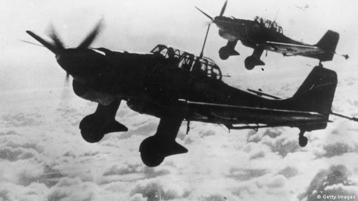 Пикирующий бомбардировщик Junkers Ju 87