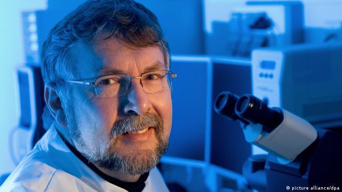 Zell- und Entwicklungsbiologe Hans Schöler (Foto: Friso Gentsch dpa/Bildfunk)