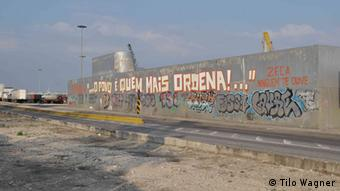 Political graffiti in Lisbon Copyright: Tilo Wagner