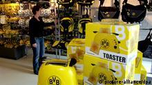 Fußball Fanartikel Shop BVB Borussia Dortmund
