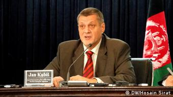 Jan Kubis in Kabul (Foto: DW)