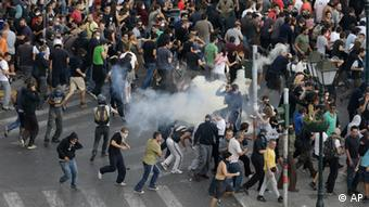 Riots in Greece