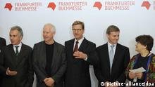 Buchmesse Frankfurt - Eröffnungsfeier