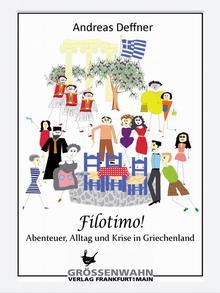 Buchcover Filotimo Andreas Deffner