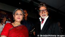 Amitabh Bachchan mit Frau Jaya Bachchan