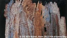 Max Ernst (1891–1976) Vom nächtlichen Anblick der Porte Saint-Denis ausgelöste Vision, 1927 Öl auf Leinwand, 65 × 81 cm © VG Bild-Kunst, Bonn 2012 Privatsammlung VERWENDUNG NUR IN VERBINDUNG MIT EINER BERICHTERSTATTUNG ÜBER DIE AUSSTELLUNG!