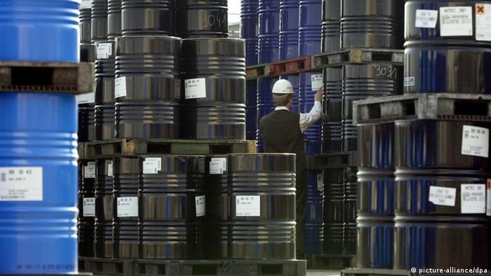Symbolbild - Ölpreis (picture-alliance/dpa)