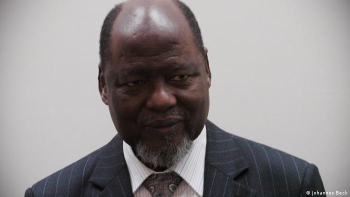 Joaquim Chissano Ex-Präsident von Mosambik (Johannes Beck)