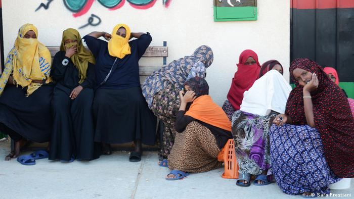 Migranten in Libyen (Sara Prestiani)