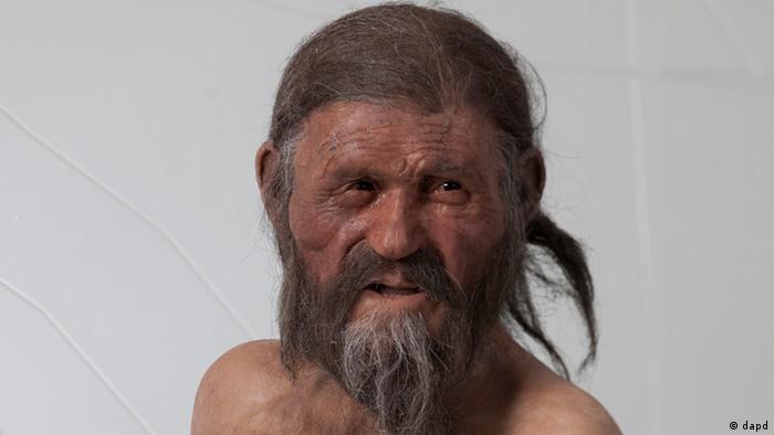 Gesichtsrekonstruktion - Ötzi