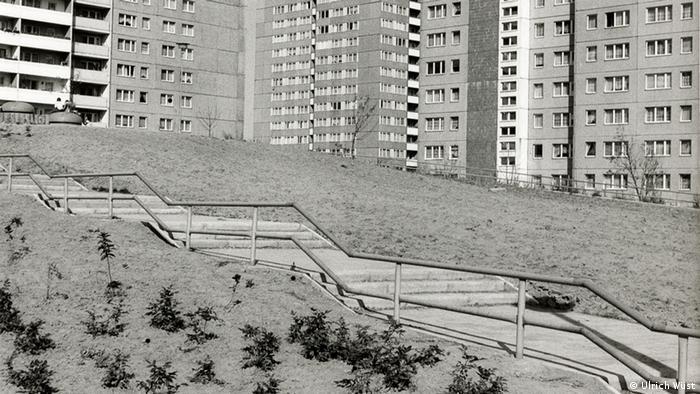 Foto Berlin 1982 aus der Serie Stadt-Bilder von Ulrich Wüst (Foto: Ulrich Wüst Sammlung Berlinische Galerie, Berlin)