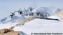 Die belgische Antarktisstation Princess Elisabeth Antarctica is the world's first zero-emission station. Foto: International Polar Foundation