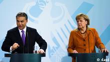 Pressekonferenz - Angela Merkel und Viktor Orban