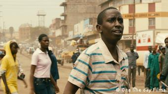 Nairobi Half Life: Mwas first day in twon (photo: One Fine Day Films).