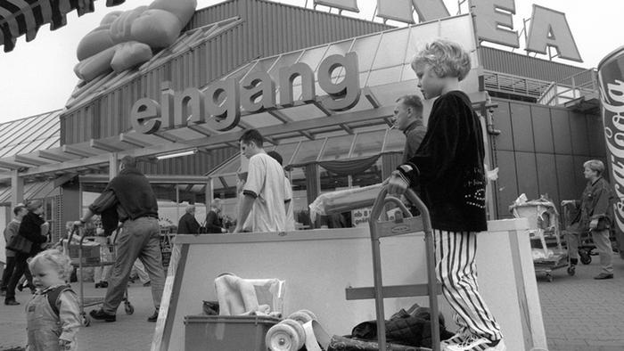 Любовь к покупателю лежит через тележку  IKEA в Германии   История ... 0bab412f332