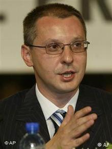 Sergei Stanischew Bulgarien Ministerpräsident