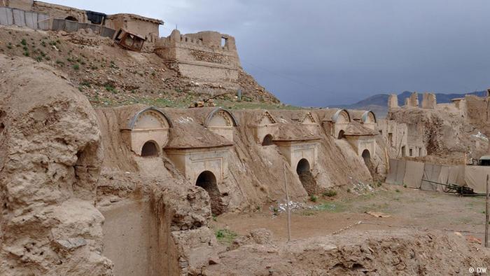 Альте Гебойде-ин-дер-Штадт Газни, Афганистан (DW)