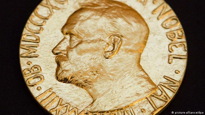 Symbolbild Vorschau Bekanntgabe Friedensnobelpreis Träger Medaille