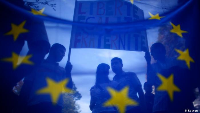Symbolbild Friedensnobelpreis 2012 an die EU (Reuters)
