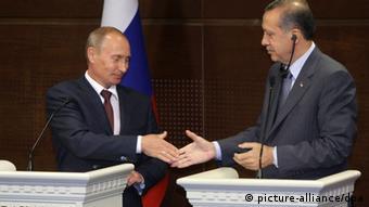 Από παλαιότερη συνάντηση των Πούτιν και Ερντογάν
