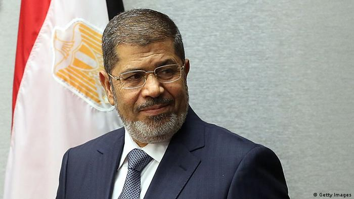 Egyptian President Mohamed Mursi at the United Nations during a meeting at the General Assembly on September 25, 2012 in New York City. Over 120 prime ministers, presidents and monarchs are gathering this week at the U.N. for the annual meeting.