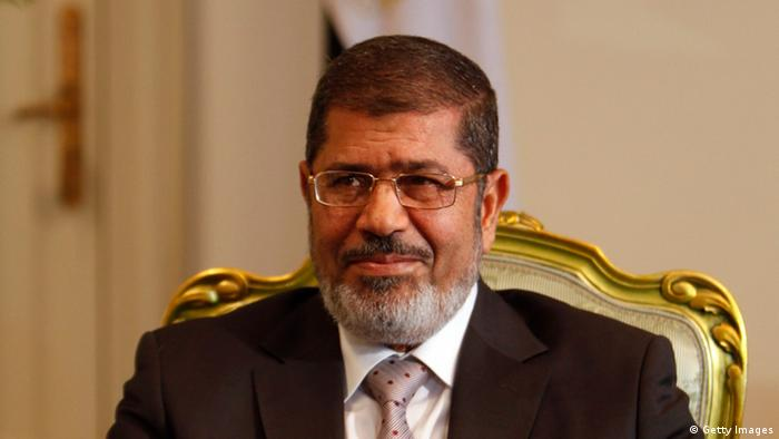 Egypt's President Mohamed Morsi Photo: REUTERS/Amr Abdallah Dalsh